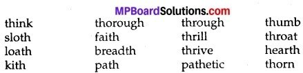 MP Board Class 9th English The Rainbow Workbook Solutions Chapter 2 The Victory 1