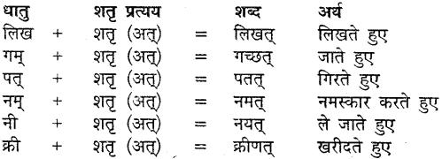 MP Board Class 9th Sanskrit व्याकरण कृदन्त, तद्धित और स्त्री प्रत्यय img-10