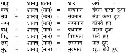 MP Board Class 9th Sanskrit व्याकरण कृदन्त, तद्धित और स्त्री प्रत्यय img-11