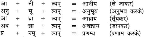 MP Board Class 9th Sanskrit व्याकरण कृदन्त, तद्धित और स्त्री प्रत्यय img-3