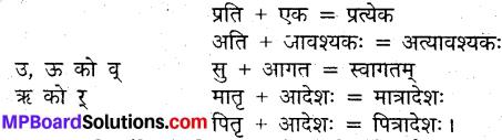 MP Board Class 9th Sanskrit व्याकरण संधि प्रकरण img-5