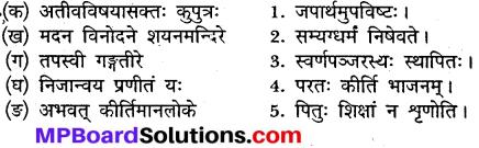 संस्कृत कक्षा 9 पाठ 4 प्रश्न उत्तर MP Board