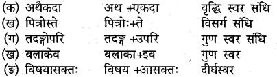 संस्कृत कक्षा 9 पाठ 4 Solution MP Board