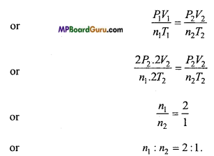 MP Board Class 11th Physics Important Questions Chapter 13 Kinetic Theory 11