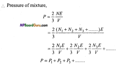 MP Board Class 11th Physics Important Questions Chapter 13 Kinetic Theory 6
