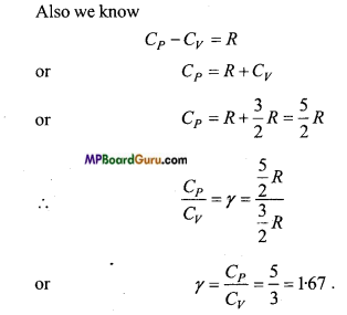 MP Board Class 11th Physics Important Questions Chapter 13 Kinetic Theory 7