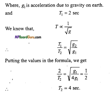 MP Board Class 11th Physics Important Questions Chapter 14 Oscillations 19