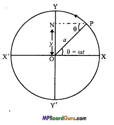 MP Board Class 11th Physics Important Questions Chapter 14 Oscillations 2
