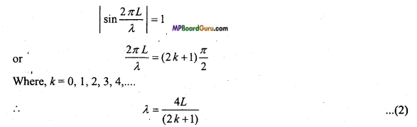 MP Board Class 11th Physics Important Questions Chapter 15 Waves Important 13