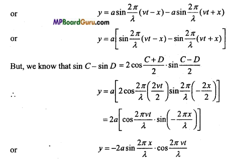 MP Board Class 11th Physics Important Questions Chapter 15 Waves Important 2