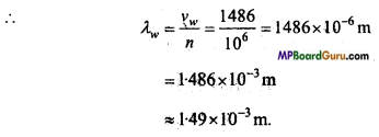 MP Board Class 11th Physics Important Questions Chapter 15 Waves Important 25