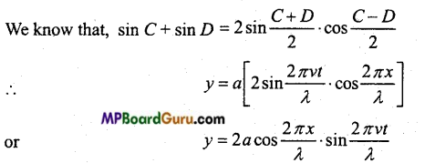 MP Board Class 11th Physics Important Questions Chapter 15 Waves Important 4