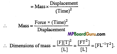 MP Board Class 11th Physics Important Questions Chapter 2 Units and Measurements 20