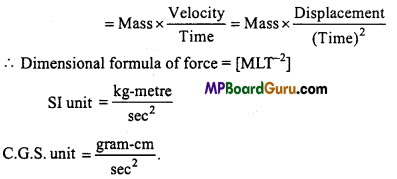 MP Board Class 11th Physics Important Questions Chapter 2 Units and Measurements 5
