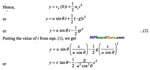 MP Board Class 11th Physics Important Questions Chapter 4 Motion in a Plane 17
