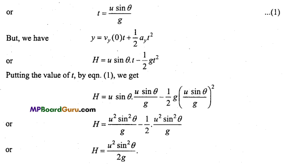 MP Board Class 11th Physics Important Questions Chapter 4 Motion in a Plane 19