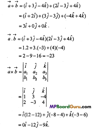 MP Board Class 11th Physics Important Questions Chapter 4 Motion in a Plane 21