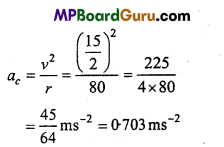 MP Board Class 11th Physics Important Questions Chapter 4 Motion in a Plane 27