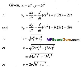 MP Board Class 11th Physics Important Questions Chapter 4 Motion in a Plane 32