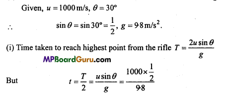 MP Board Class 11th Physics Important Questions Chapter 4 Motion in a Plane 34