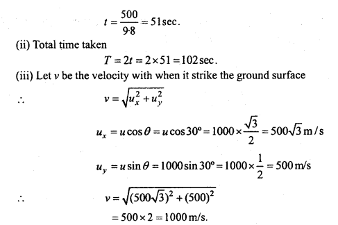 MP Board Class 11th Physics Important Questions Chapter 4 Motion in a Plane 35