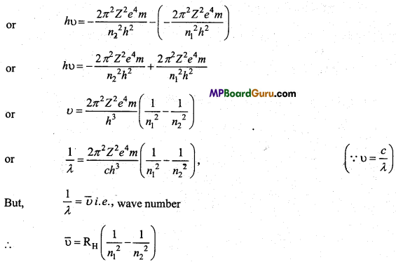 MP Board Class 11th Chemistry Important Questions Chapter 2 Structure of Atom 20