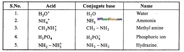 MP Board Class 11th Chemistry Important Questions Chapter 7 Equilibrium 2