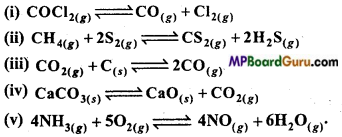 MP Board Class 11th Chemistry Important Questions Chapter 7 Equilibrium 4