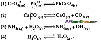MP Board Class 11th Chemistry Important Questions Chapter 7 Equilibrium 9
