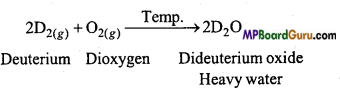 MP Board Class 11th Chemistry Important Questions Chapter 9 Hydrogen 10