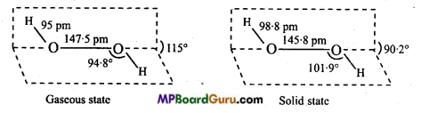 MP Board Class 11th Chemistry Important Questions Chapter 9 Hydrogen 26