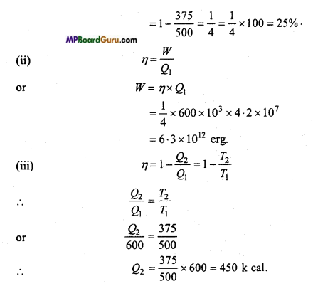 MP Board Class 11th Physics Important Questions Chapter 12 Thermodynamics 14
