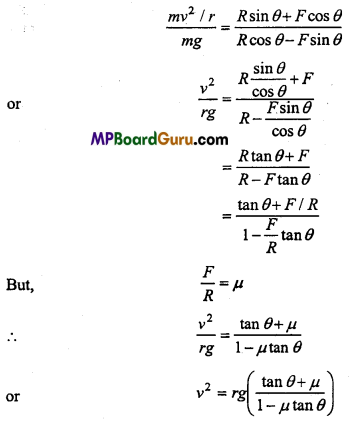 MP Board Class 11th Physics Important Questions Chapter 5 Laws of Motion 11