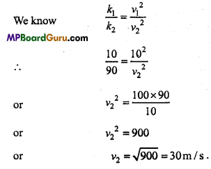 MP Board Class 11th Physics Important Questions Chapter 6 Work, Energy and Power 16