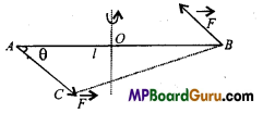 MP Board Class 11th Physics Important Questions Chapter 7 System of Particles and Rotational Motion 1