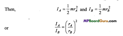 MP Board Class 11th Physics Important Questions Chapter 7 System of Particles and Rotational Motion 11