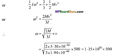 MP Board Class 11th Physics Important Questions Chapter 7 System of Particles and Rotational Motion 20