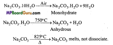 MP Board Class 11th Chemistry Important Questions Chapter 10 The s-Block Elements 2