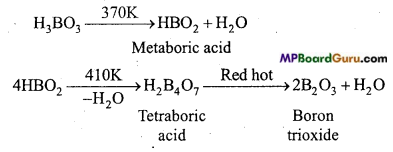 MP Board Class 11th Chemistry Important Questions Chapter 11 The p-Block Elements 11
