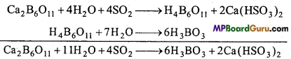 MP Board Class 11th Chemistry Important Questions Chapter 11 The p-Block Elements 14